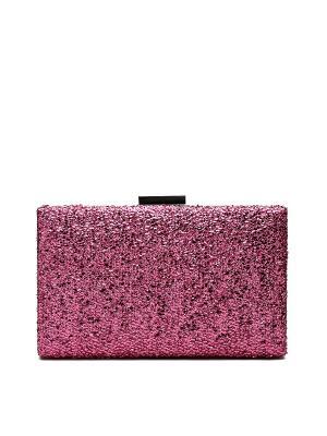 Клатч футляр Фэшн Икона со съемной цепочкой Nothing but Love. Цвет: розовый
