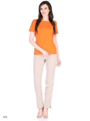Блузка La Via Estelar. Цвет: оранжевый