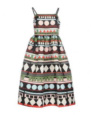 Платье до колена EDIT. Цвет: черный