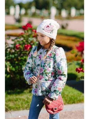 Куртка Маруся DUWALI. Цвет: молочный