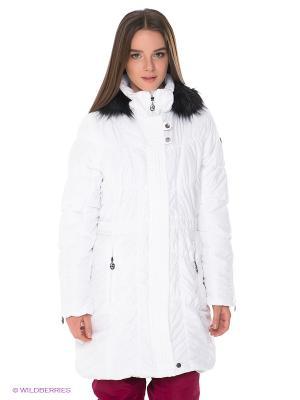 Пальто IGUANA. Цвет: белый
