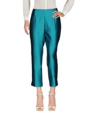 Повседневные брюки ANTONIO CROCE. Цвет: бирюзовый