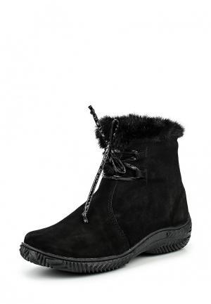 Ботинки Pink Frost. Цвет: черный