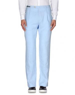 Повседневные брюки COVER. Цвет: небесно-голубой
