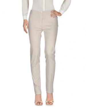 Повседневные брюки CLUB VOLTAIRE. Цвет: бежевый