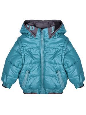Куртка Bell bimbo. Цвет: бирюзовый