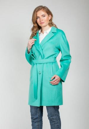 Пальто SHARTREZ. Цвет: зеленый