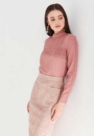 Блуза Lusio. Цвет: розовый