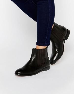 Hudson London Кожаные ботинки челси H By Wexford. Цвет: черный