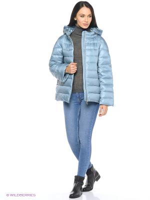Куртка Snow Guard. Цвет: светло-голубой