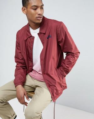 Nike SB Бордовая спортивная куртка 829509-619. Цвет: красный