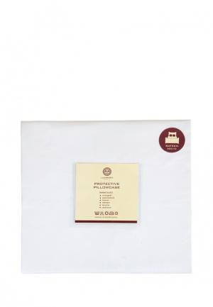 Чехол для подушки 50х70 Luxberry. Цвет: белый
