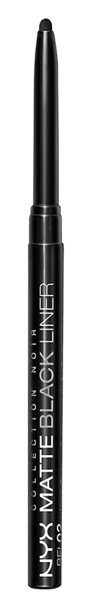 Карандаш для глаз NYX Professional Makeup BEL02 Noir. Цвет: bel02 noir