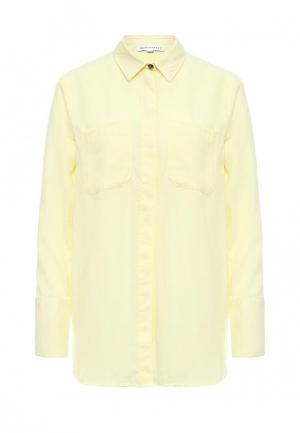 Рубашка Warehouse. Цвет: желтый
