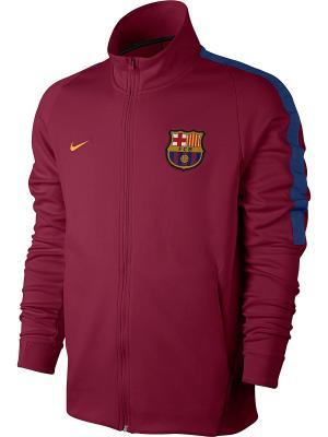 Куртка FCB M NSW JKT FRAN AUT Nike. Цвет: красный