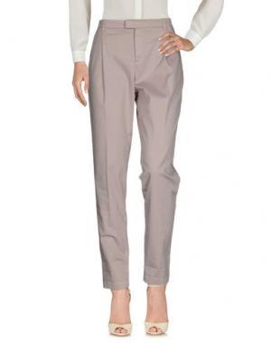 Повседневные брюки E_GO' SONIA DE NISCO. Цвет: светло-серый