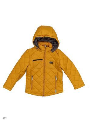 Куртка BOOM. Цвет: горчичный