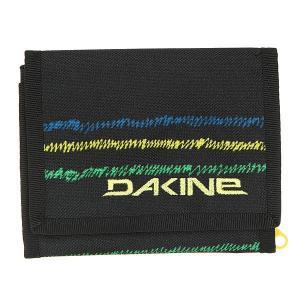 Кошелек  Diplomat Wallet Bandon Dakine. Цвет: черный,светло-зеленый,темно-голубой