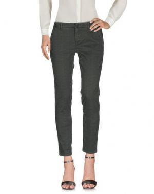 Повседневные брюки INX #THINK COLORED. Цвет: зеленый-милитари