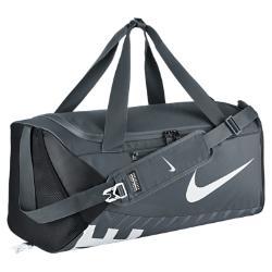 Сумка-дафл  Alpha Adapt Cross Body (средний размер) Nike. Цвет: серый