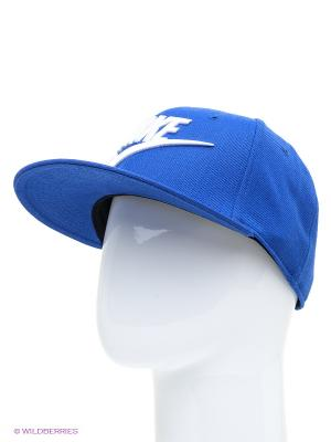 Бейсболка Nike. Цвет: синий, белый