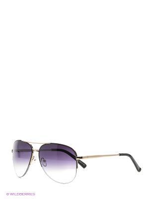 Солнцезащитные очки Vittorio Richi. Цвет: золотистый, черный