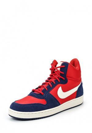 Кеды Nike. Цвет: красный