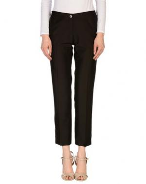 Повседневные брюки DANIELE ALESSANDRINI. Цвет: темно-коричневый