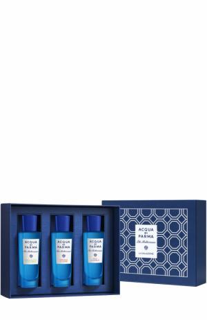 Набор Blu Mediterraneo: Fico, Arancia, Bergamotto Acqua di Parma. Цвет: бесцветный