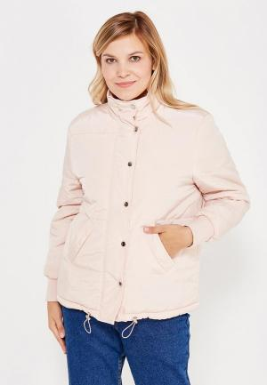 Куртка утепленная LOST INK PLUS. Цвет: розовый