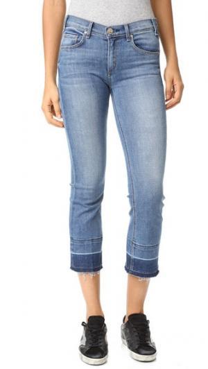 Укороченные джинсы Gainsbourg с винтажной отделкой по линии низа McGuire Denim. Цвет: dreamweaver