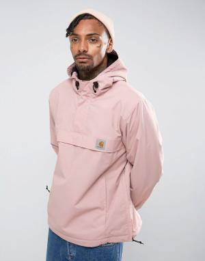 Carhartt Розовая куртка через голову WIP Nimbus. Цвет: розовый