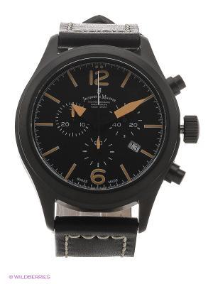Часы Jacques du Manoir. Цвет: черный