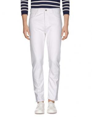 Джинсовые брюки HAIKURE. Цвет: белый