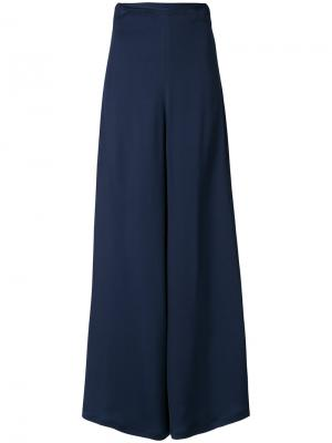 Широкие брюки A.W.A.K.E.. Цвет: синий