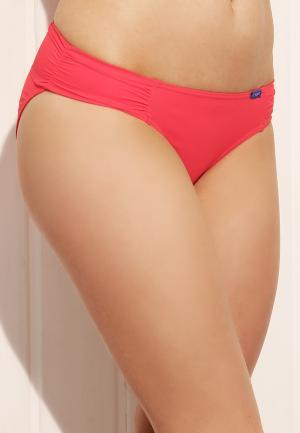 - Luxury Essentials Трусики-бикини со сборками Красный Cyell