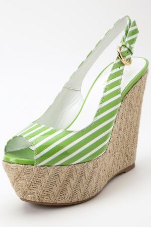 Босоножки Loriblu. Цвет: green, beige und white