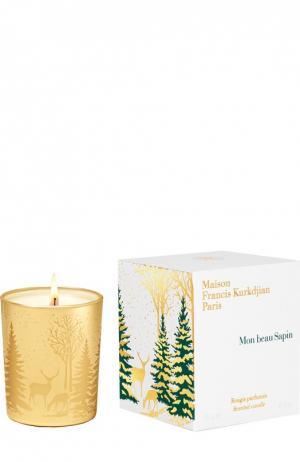 Парфюмированная свеча Mon Beau Sapin Maison Francis Kurkdjian. Цвет: бесцветный