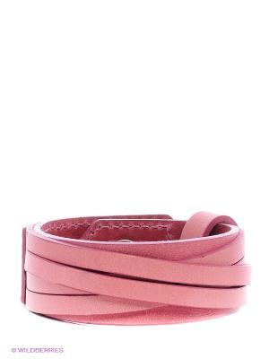 Браслет Petek. Цвет: розовый