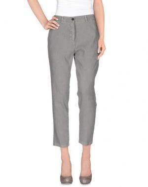 Повседневные брюки INX #THINK COLORED. Цвет: серый