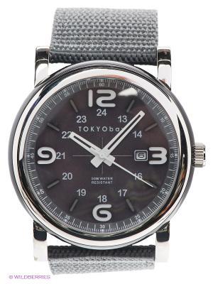 Часы TOKYObay. Цвет: темно-серый