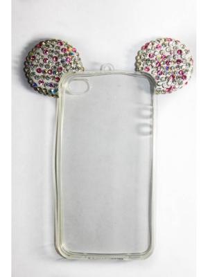 Чехол для Iphone 4/ 4S Punta. Цвет: белый, розовый