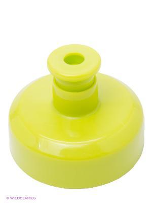 Насадка для бутылки iiamo. Цвет: салатовый