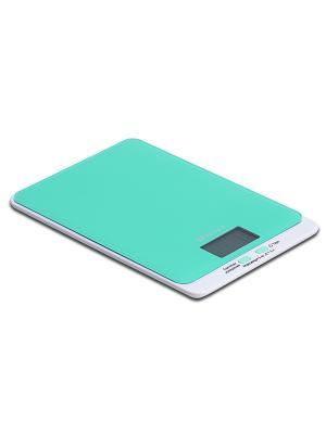 Весы кухонные КТ-803-1 зеленые Kitfort. Цвет: зеленый
