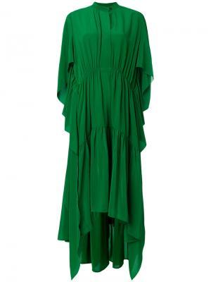 Платье Demetria Petar Petrov. Цвет: зелёный