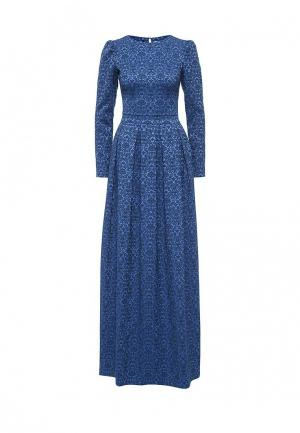 Платье Olga Grinyuk. Цвет: синий