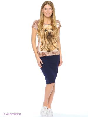 Собачка Йоркширский терьер Stella. Цвет: коричневый