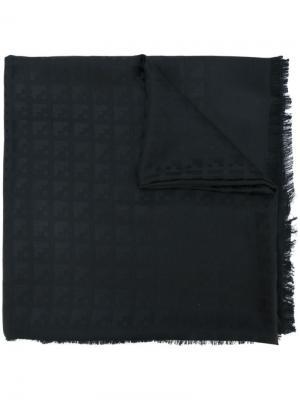 Четырехугольный платок Crescent Giant Bally. Цвет: чёрный