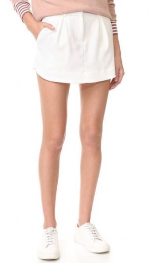 Комбинированная юбка-брюки James Jeans. Цвет: голубой
