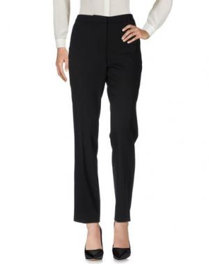 Повседневные брюки GATTINONI. Цвет: черный